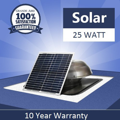 25 Watt Usa Stock Solar Powered Attic Fan Solar Venting