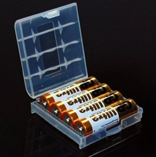Liroyal Aa Aaa Battery Storage Hard Case Box Top Solar