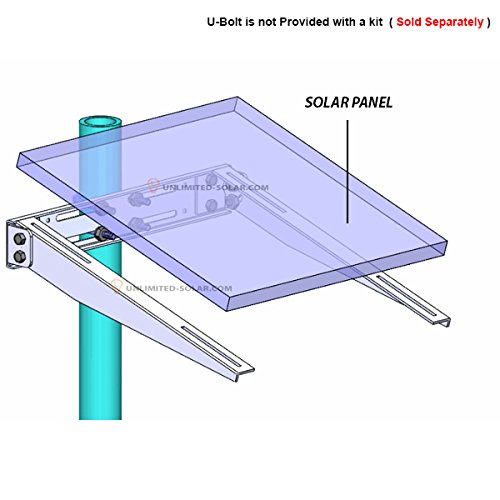 Unlimited Solar Universal Solar Panel Side Of Pole Wall