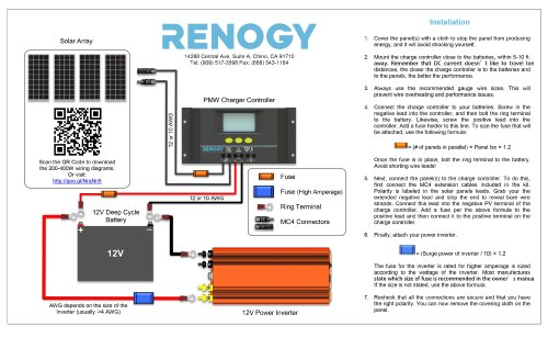 Renogy Wiring Diagram | Wiring Diagram