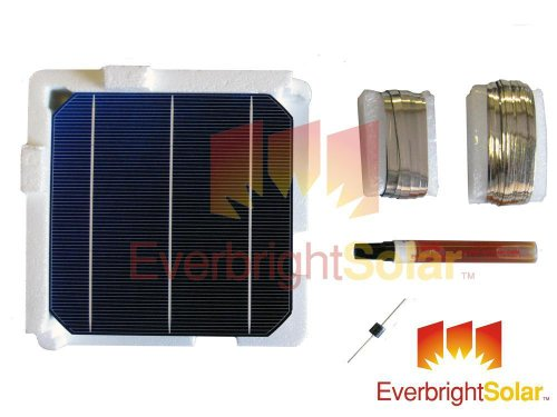 500 Watts Mono 6x6 Solar Cells DIY Solar Panel Kit w/Wire ...
