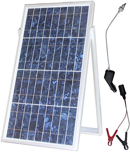 microsolar 30w solar charger kit plug play solar charge contoller included 18 feet. Black Bedroom Furniture Sets. Home Design Ideas
