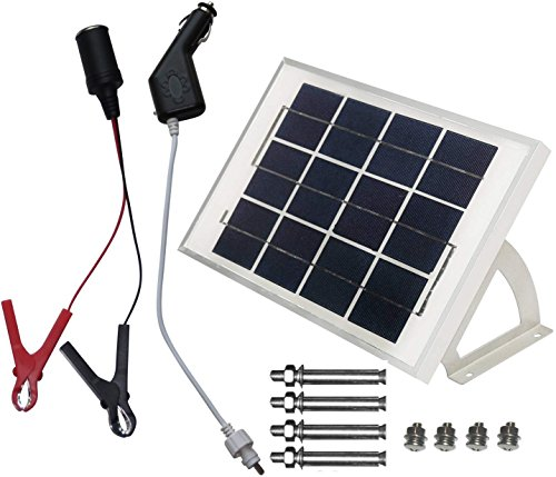 microsolar chg1 5w solar panel charging kit 5 items. Black Bedroom Furniture Sets. Home Design Ideas