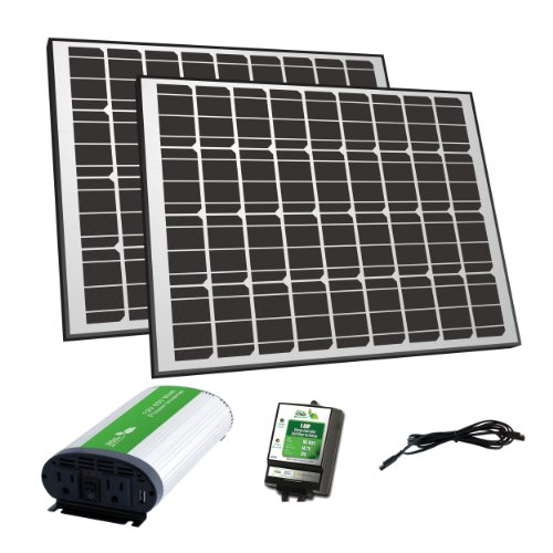 Nature Power 57002 Mono Crystalline Off Grid Solar Panel