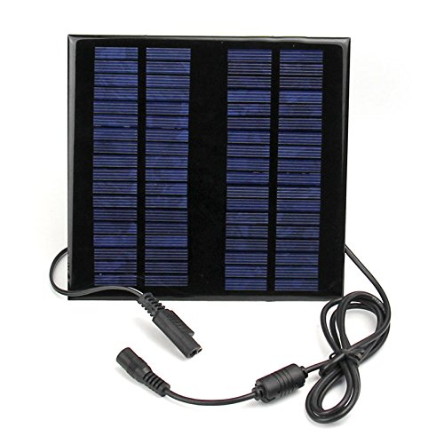 Soonhua 18v 2w Portable Solar Panel Battery Pack Charger