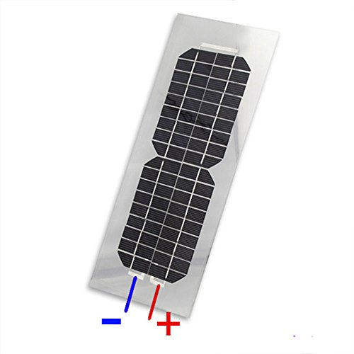 18v 4 5w Semi Flexible Monocrystalline Silicon Solar Cell