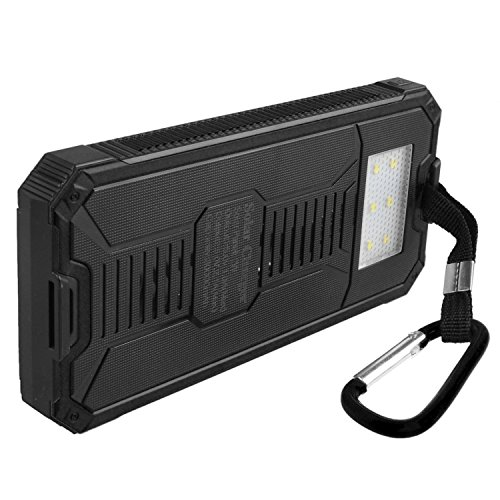 Solar Charger Shockproof Portable Solar Powered Phone