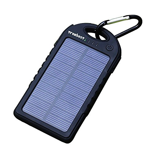 Trekbest Solar Charger 12 000mah Solar External Battery