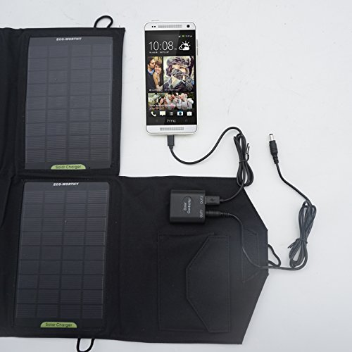 Eco Worthy Outdoor Foldable Portable Solar Charger Top