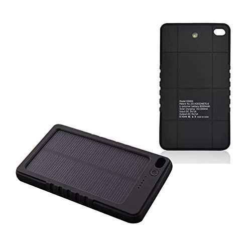 Led Lighting For Camera Phones Tablet Full Hd Do 500 Zl Smonet Wireless Hd Camera Cctv Security Kit Hd Tv Shows Stream: MLMSY Waterproof Solar Charger, Solar External Battery