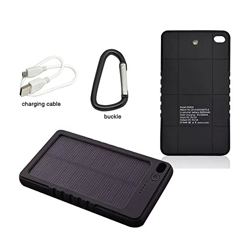 Mlmsy Waterproof Solar Charger Solar External Battery