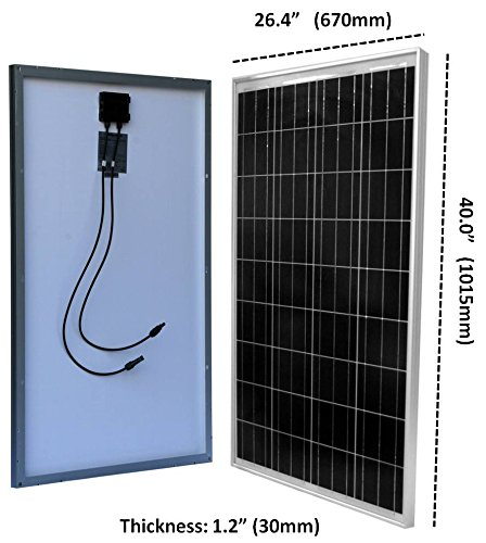 Windy Nation 100 Watt Solar Panel Complete Off Grid Rv