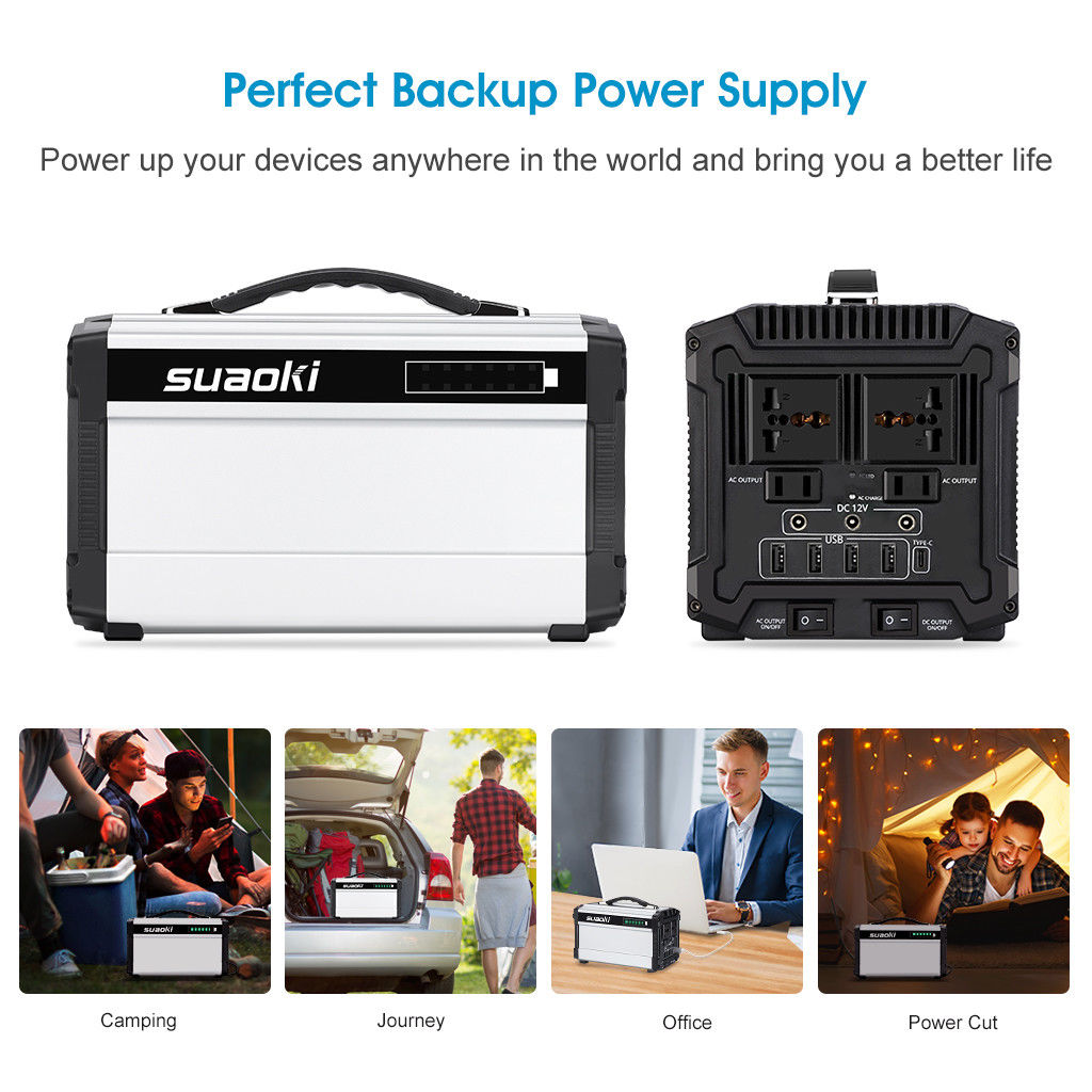 New Suaoki Portable All In One Outdoor 440wh Generiter