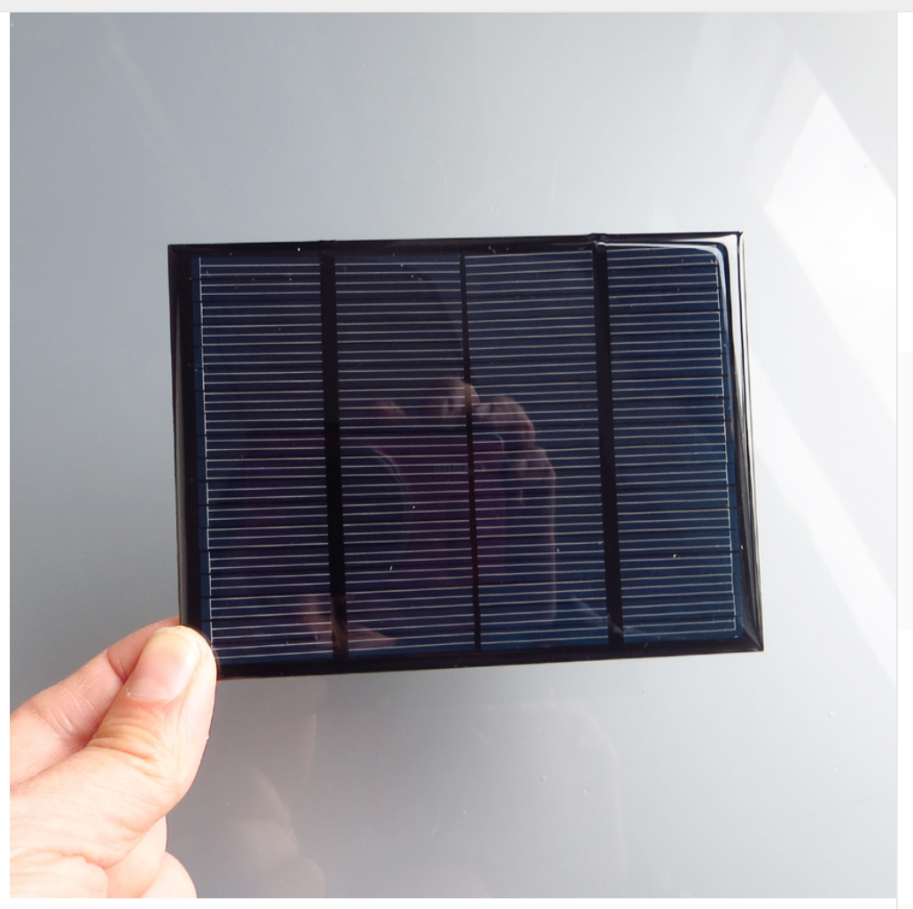 how to make a very small solar panel